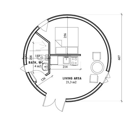 Floor Plans For Yurts: Space-Wood